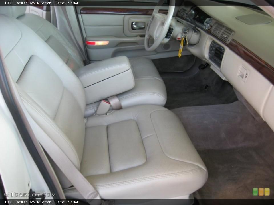 Camel 1997 Cadillac DeVille Interiors