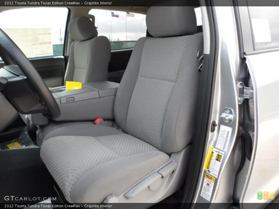 Graphite Interior Photo for the 2012 Toyota Tundra Texas Edition CrewMax #55006081