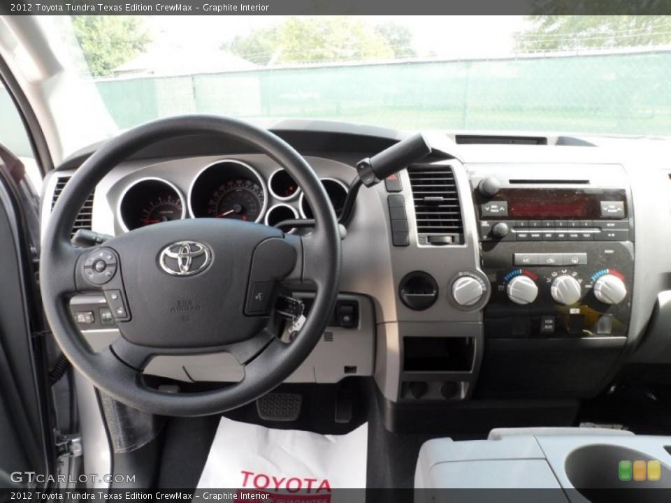 Graphite Interior Dashboard for the 2012 Toyota Tundra Texas Edition CrewMax #55006099
