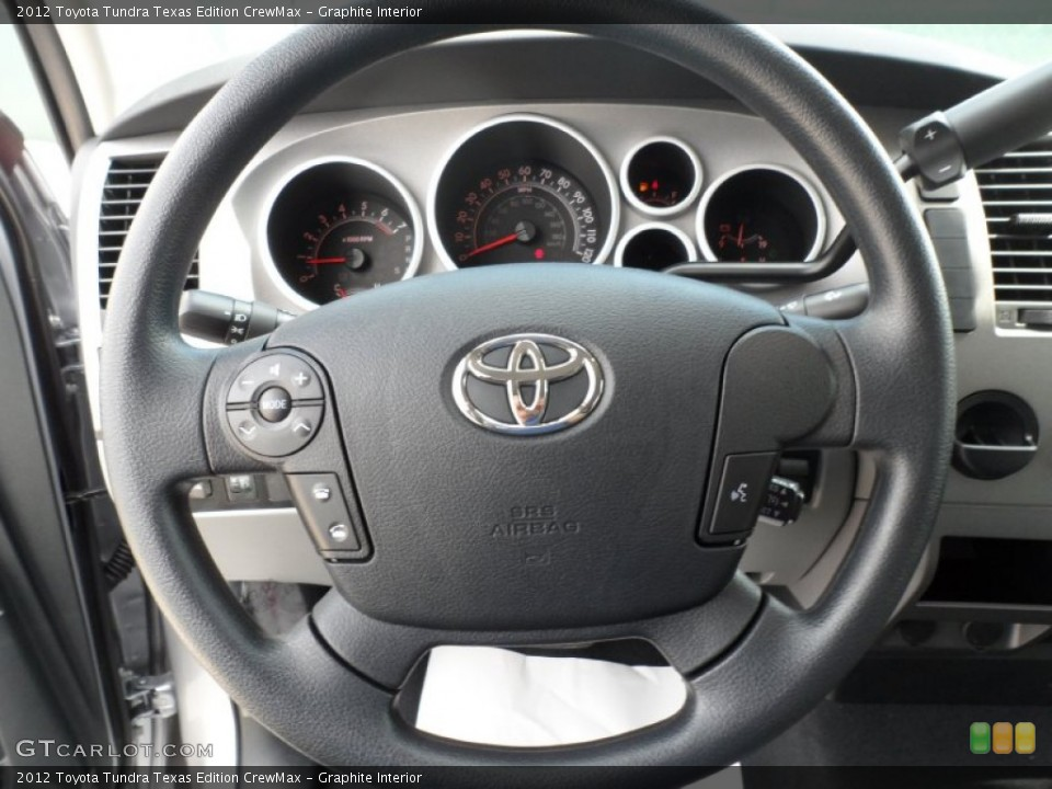 Graphite Interior Steering Wheel for the 2012 Toyota Tundra Texas Edition CrewMax #55006141