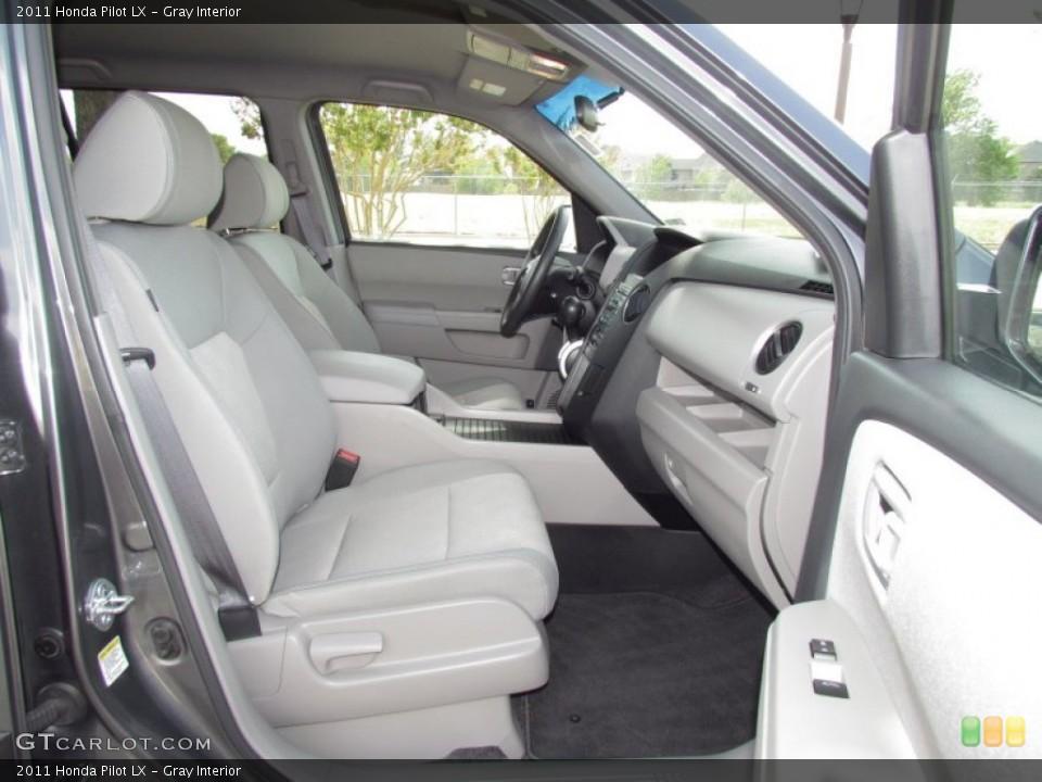 Gray Interior Photo for the 2011 Honda Pilot LX #55027527