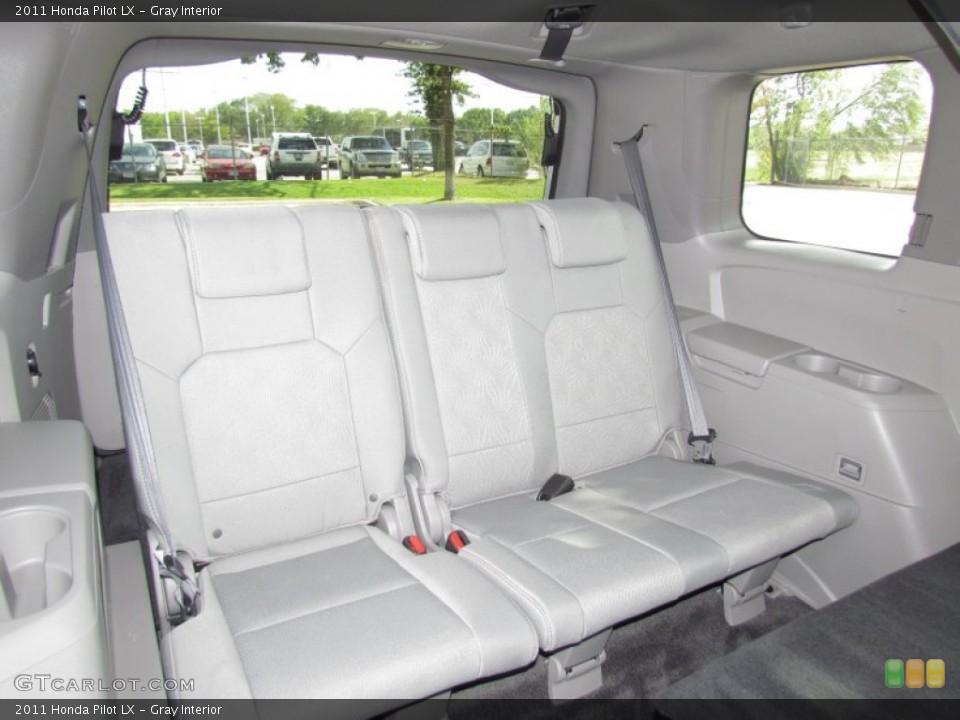 Gray Interior Photo for the 2011 Honda Pilot LX #55027545