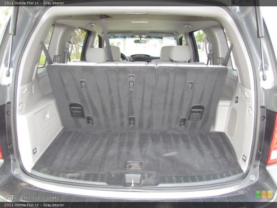 Gray Interior Trunk for the 2011 Honda Pilot LX #55027617