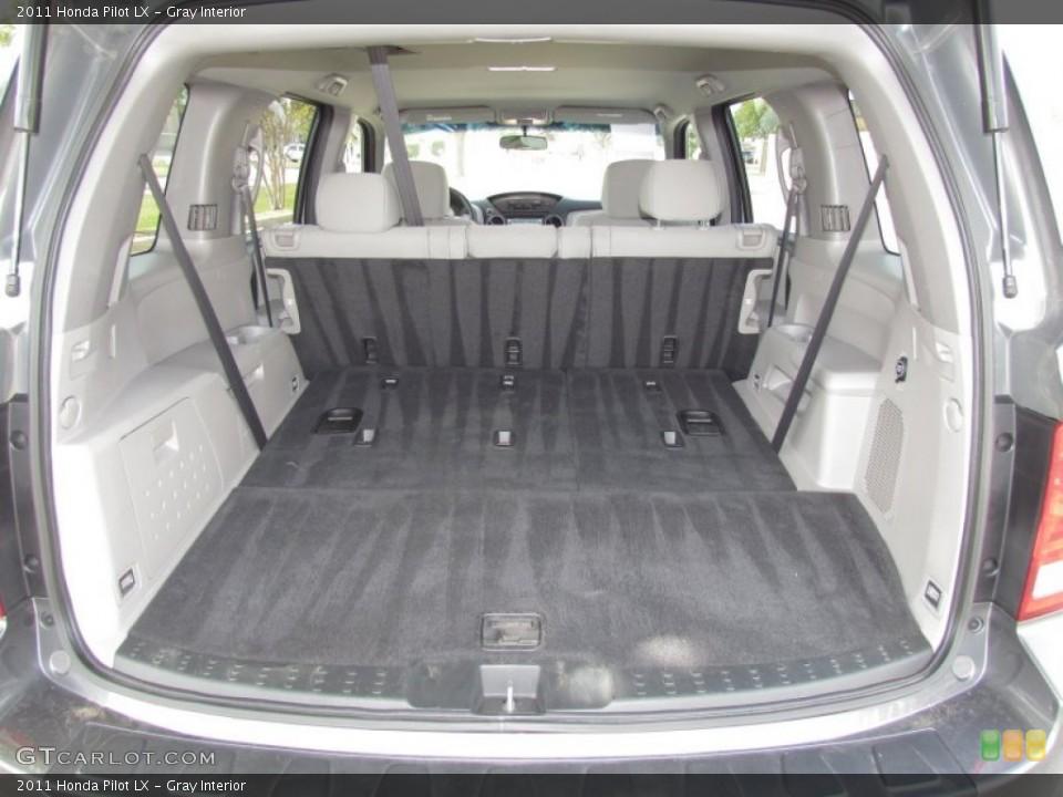 Gray Interior Trunk for the 2011 Honda Pilot LX #55027626