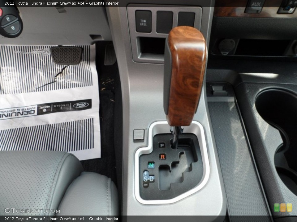 Graphite Interior Transmission for the 2012 Toyota Tundra Platinum CrewMax 4x4 #55060065