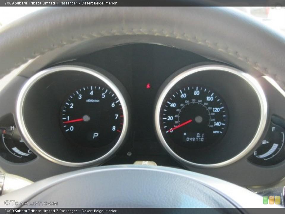Desert Beige Interior Gauges for the 2009 Subaru Tribeca Limited 7 Passenger #55060176
