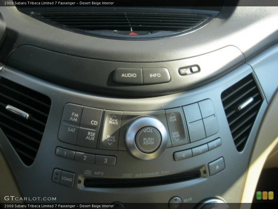 Desert Beige Interior Audio System for the 2009 Subaru Tribeca Limited 7 Passenger #55060203