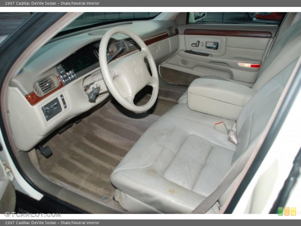 Shale/Neutral 1997 Cadillac DeVille Interiors