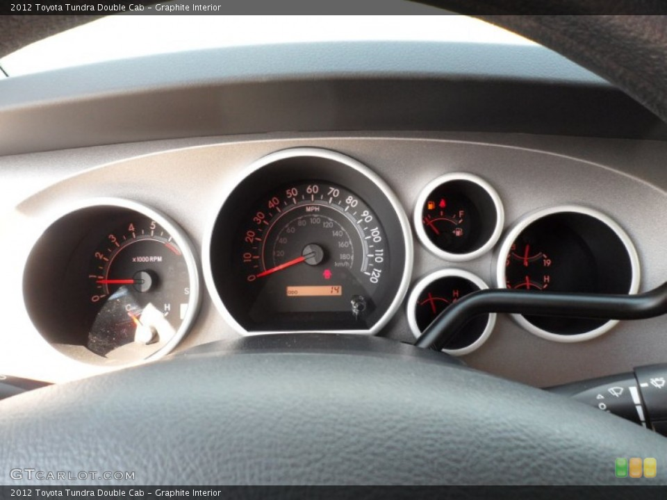 Graphite Interior Gauges for the 2012 Toyota Tundra Double Cab #55183419