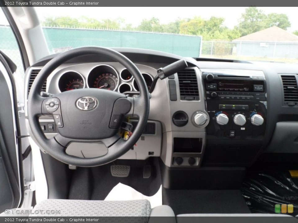 Graphite Interior Dashboard for the 2012 Toyota Tundra Double Cab #55219816