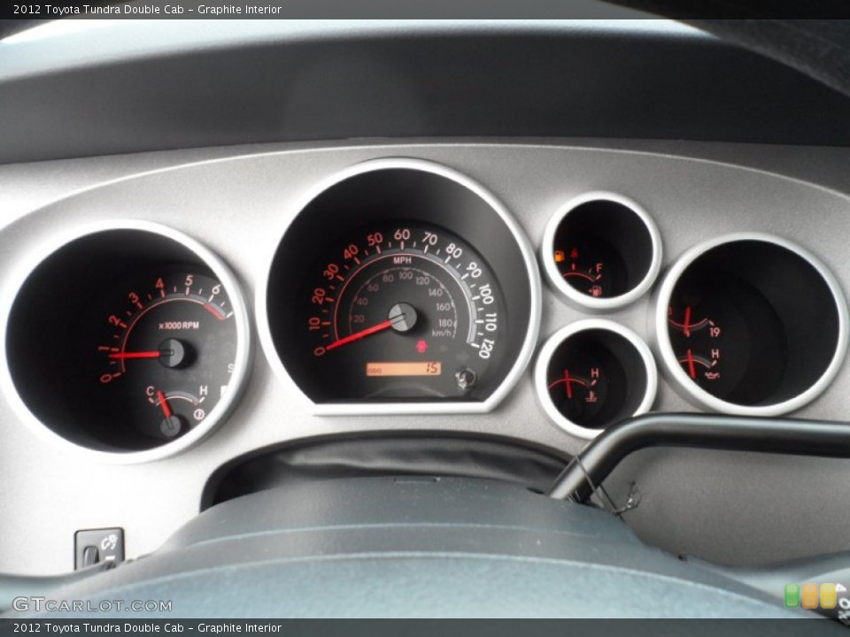 Graphite Interior Gauges for the 2012 Toyota Tundra Double Cab #55219870