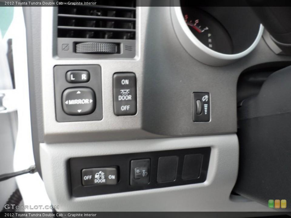 Graphite Interior Controls for the 2012 Toyota Tundra Double Cab #55219876