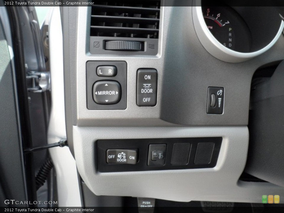 Graphite Interior Controls for the 2012 Toyota Tundra Double Cab #55220155