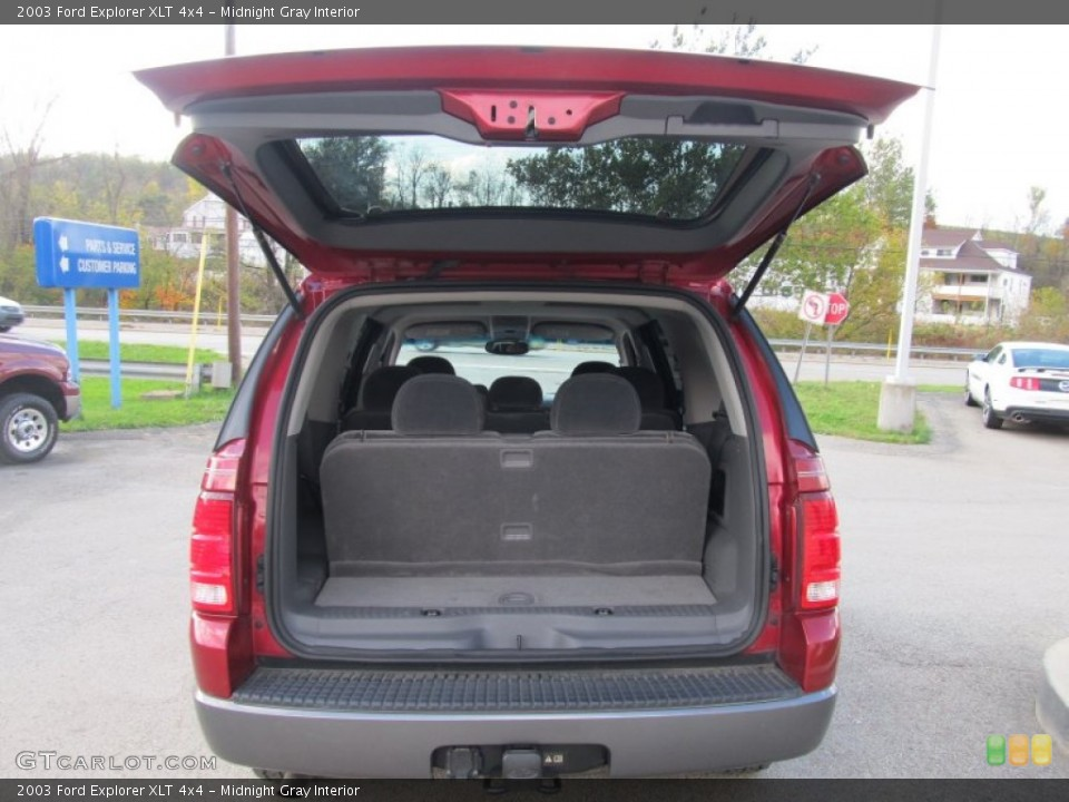 Midnight Gray Interior Trunk for the 2003 Ford Explorer XLT 4x4 #55330162
