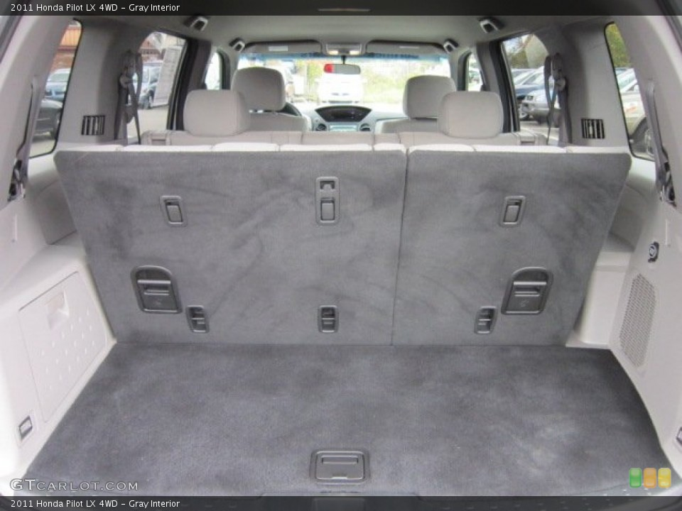 Gray Interior Trunk for the 2011 Honda Pilot LX 4WD #55395768