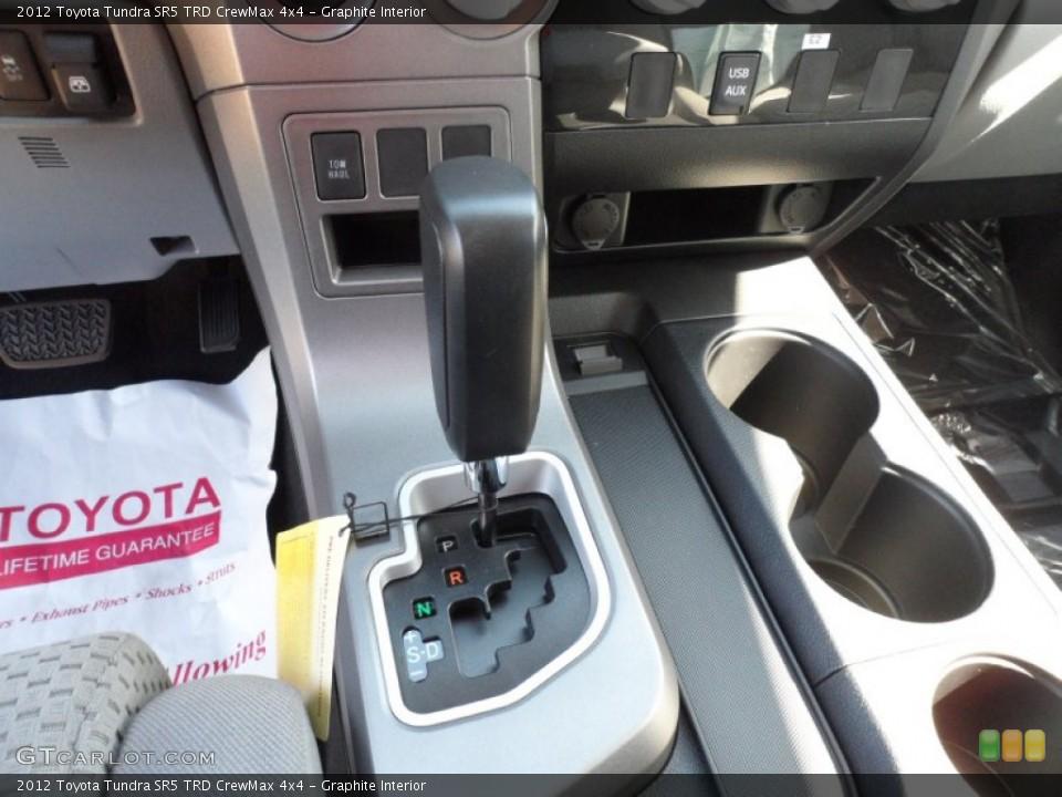 Graphite Interior Transmission for the 2012 Toyota Tundra SR5 TRD CrewMax 4x4 #55445035
