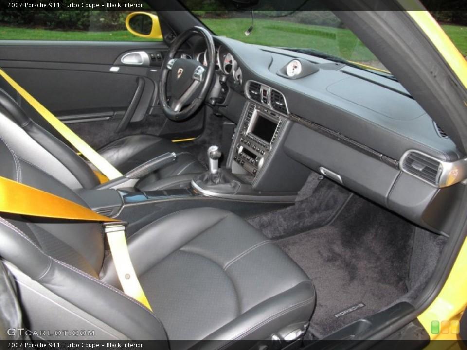 Black Interior Photo for the 2007 Porsche 911 Turbo Coupe #55510826