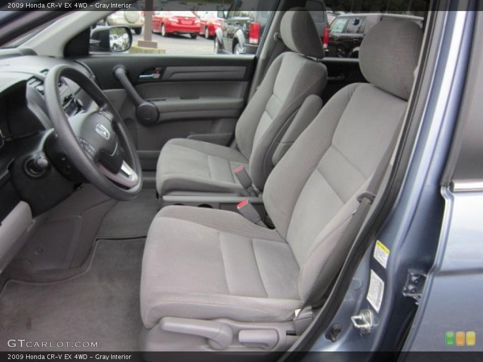 Gray Interior Photo for the 2009 Honda CR-V EX 4WD #55562554