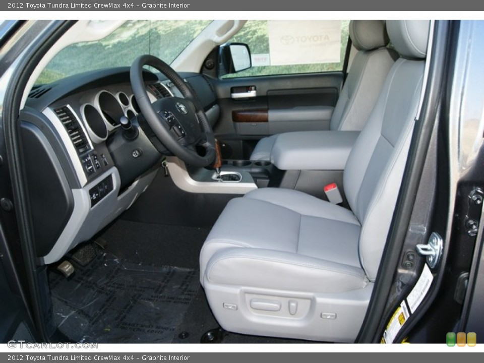 Graphite Interior Photo for the 2012 Toyota Tundra Limited CrewMax 4x4 #55565993