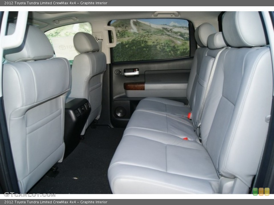Graphite Interior Photo for the 2012 Toyota Tundra Limited CrewMax 4x4 #55566030
