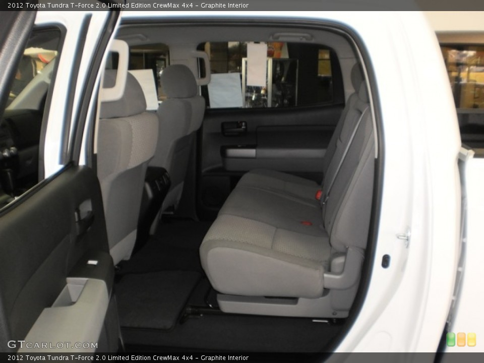 Graphite Interior Photo for the 2012 Toyota Tundra T-Force 2.0 Limited Edition CrewMax 4x4 #55601914