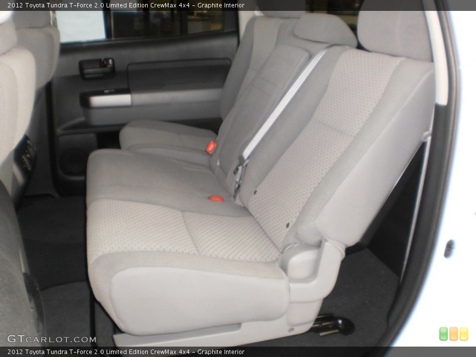 Graphite Interior Photo for the 2012 Toyota Tundra T-Force 2.0 Limited Edition CrewMax 4x4 #55601929