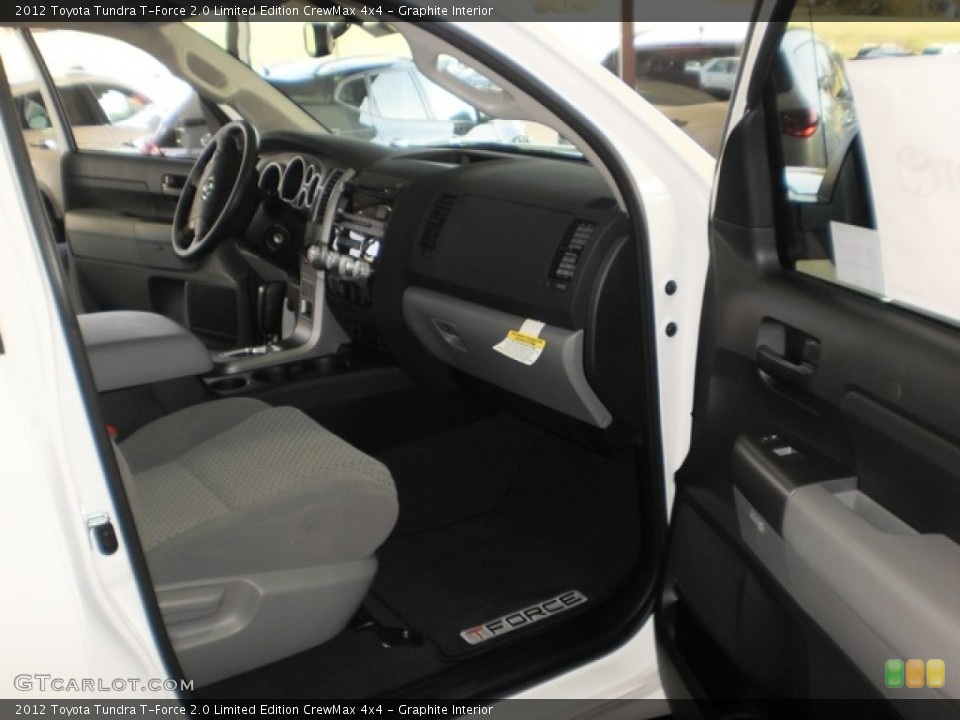 Graphite Interior Photo for the 2012 Toyota Tundra T-Force 2.0 Limited Edition CrewMax 4x4 #55601956