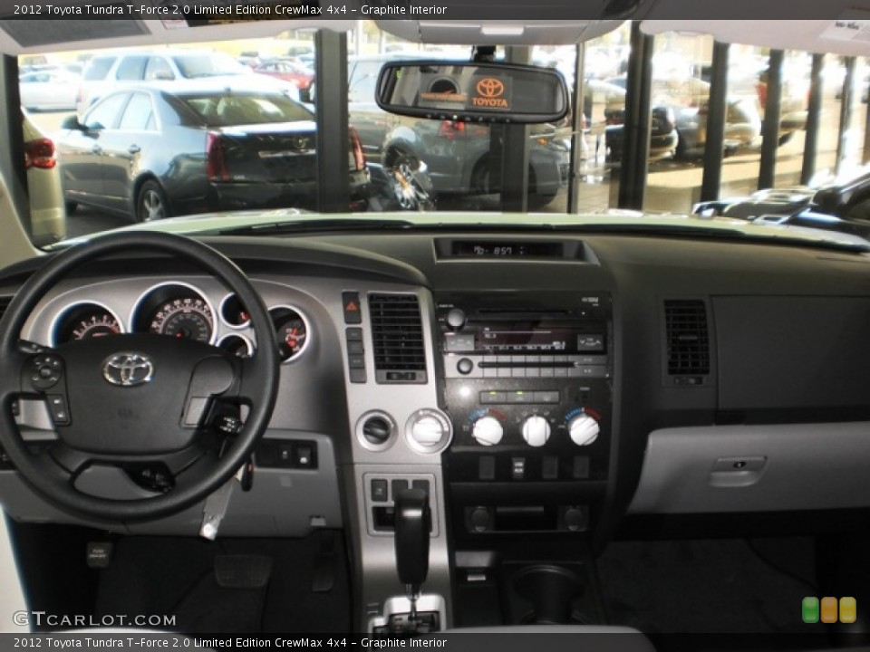 Graphite Interior Dashboard for the 2012 Toyota Tundra T-Force 2.0 Limited Edition CrewMax 4x4 #55601976
