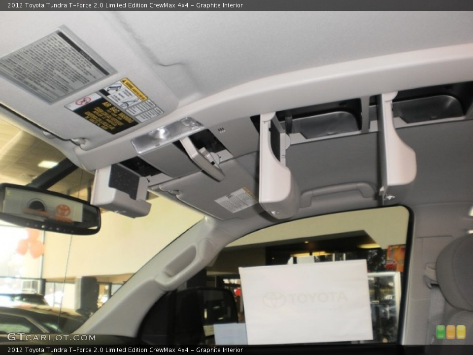 Graphite Interior Photo for the 2012 Toyota Tundra T-Force 2.0 Limited Edition CrewMax 4x4 #55602034