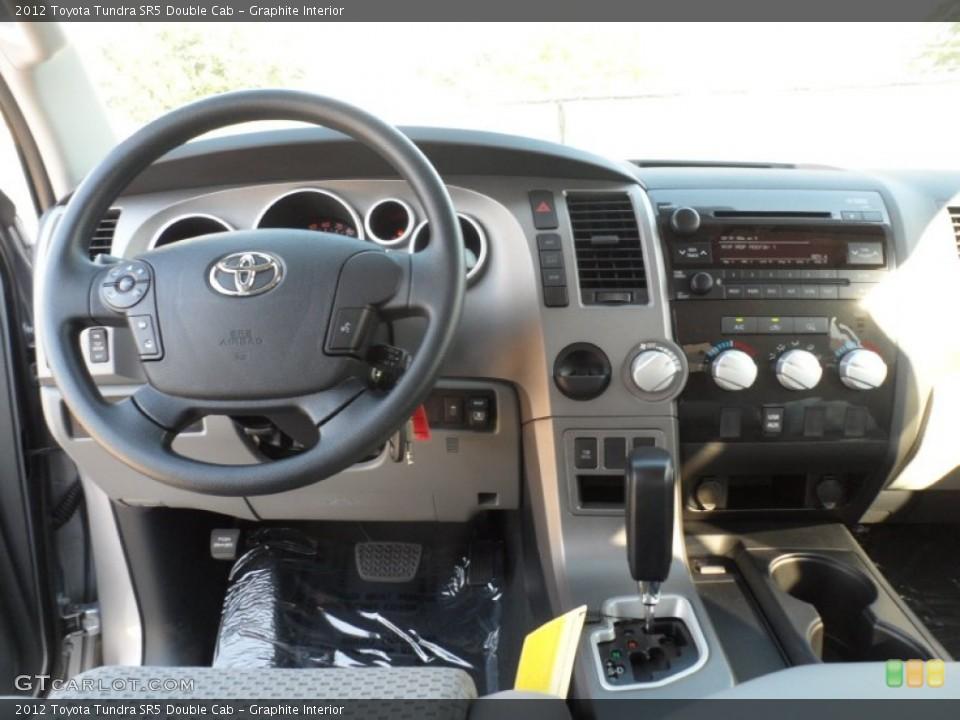 Graphite Interior Controls for the 2012 Toyota Tundra SR5 Double Cab #55738068