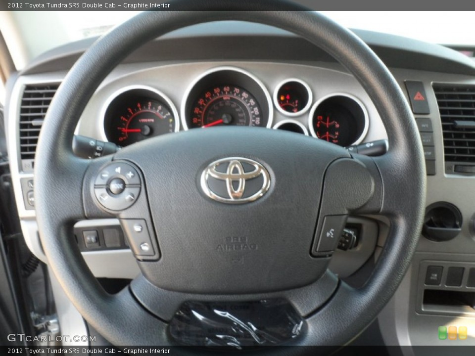 Graphite Interior Steering Wheel for the 2012 Toyota Tundra SR5 Double Cab #55738129