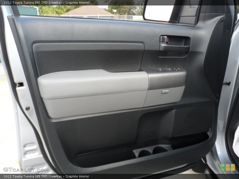 Graphite Interior Door Panel for the 2012 Toyota Tundra SR5 TRD CrewMax #55816445