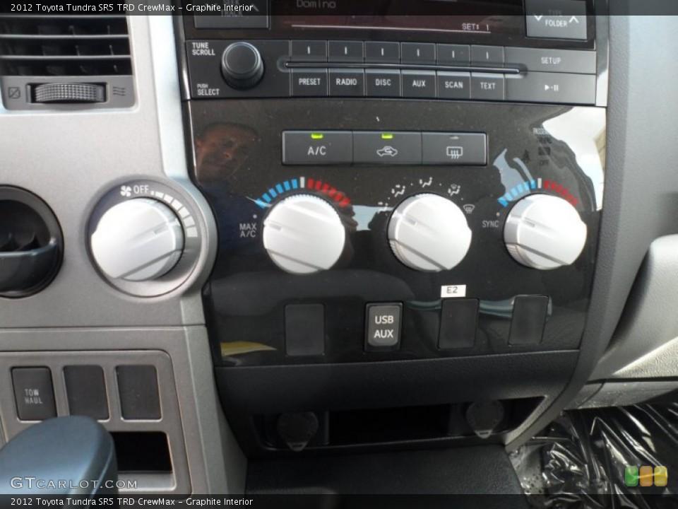 Graphite Interior Controls for the 2012 Toyota Tundra SR5 TRD CrewMax #55816499