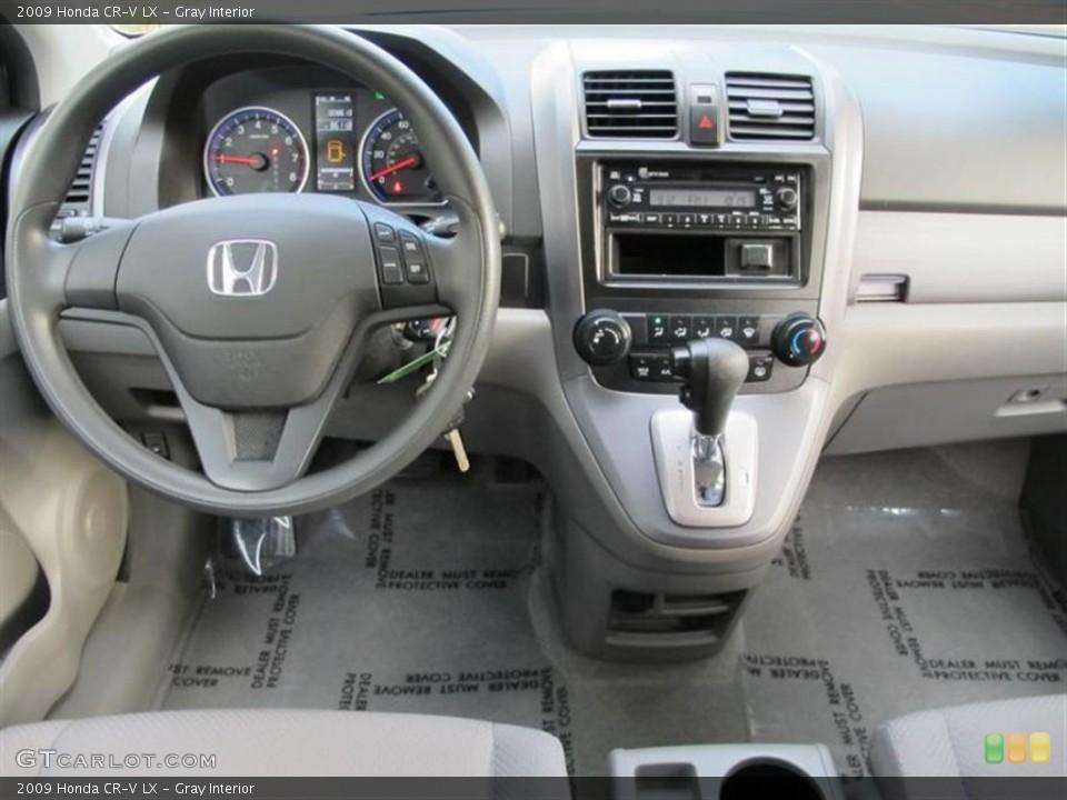 Gray Interior Dashboard for the 2009 Honda CR-V LX #55838828