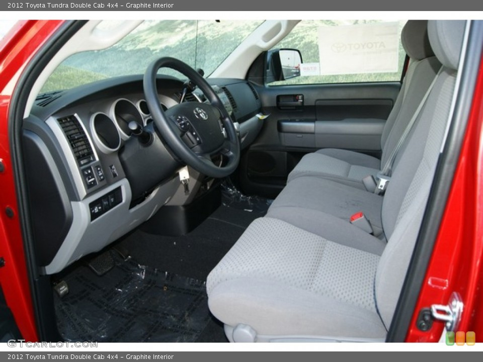 Graphite Interior Photo for the 2012 Toyota Tundra Double Cab 4x4 #55859638