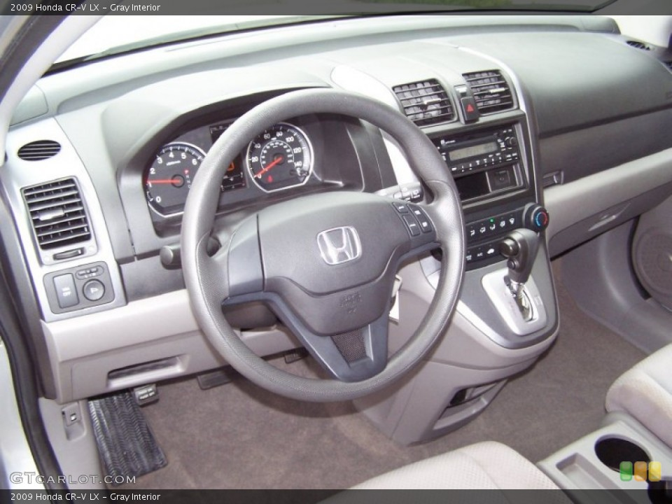 Gray Interior Dashboard for the 2009 Honda CR-V LX #55885573