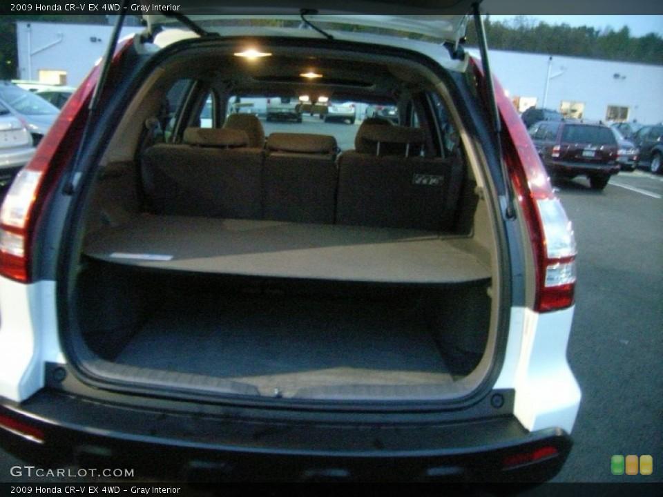 Gray Interior Trunk for the 2009 Honda CR-V EX 4WD #55913355