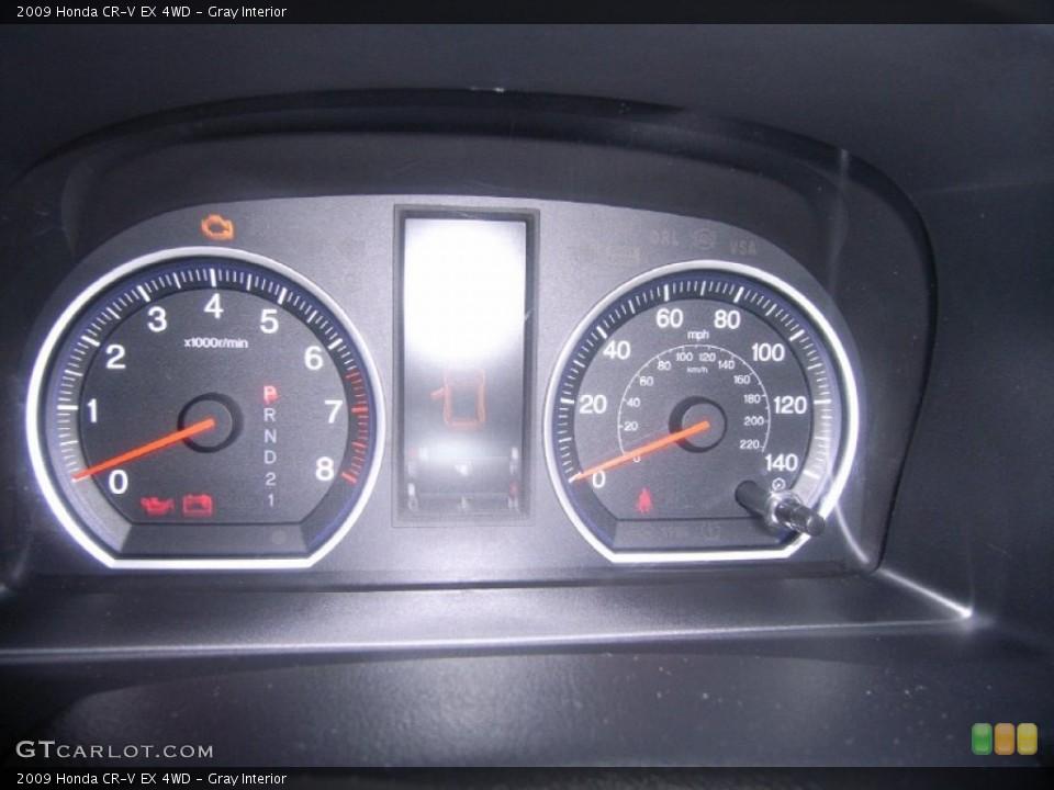 Gray Interior Gauges for the 2009 Honda CR-V EX 4WD #55913445