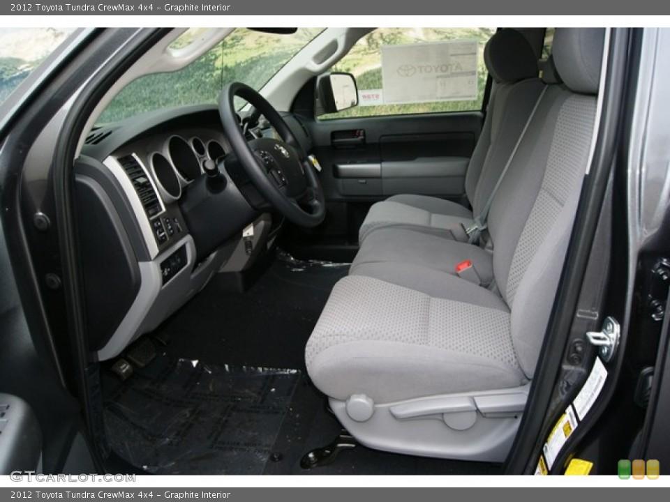 Graphite Interior Photo for the 2012 Toyota Tundra CrewMax 4x4 #55996479