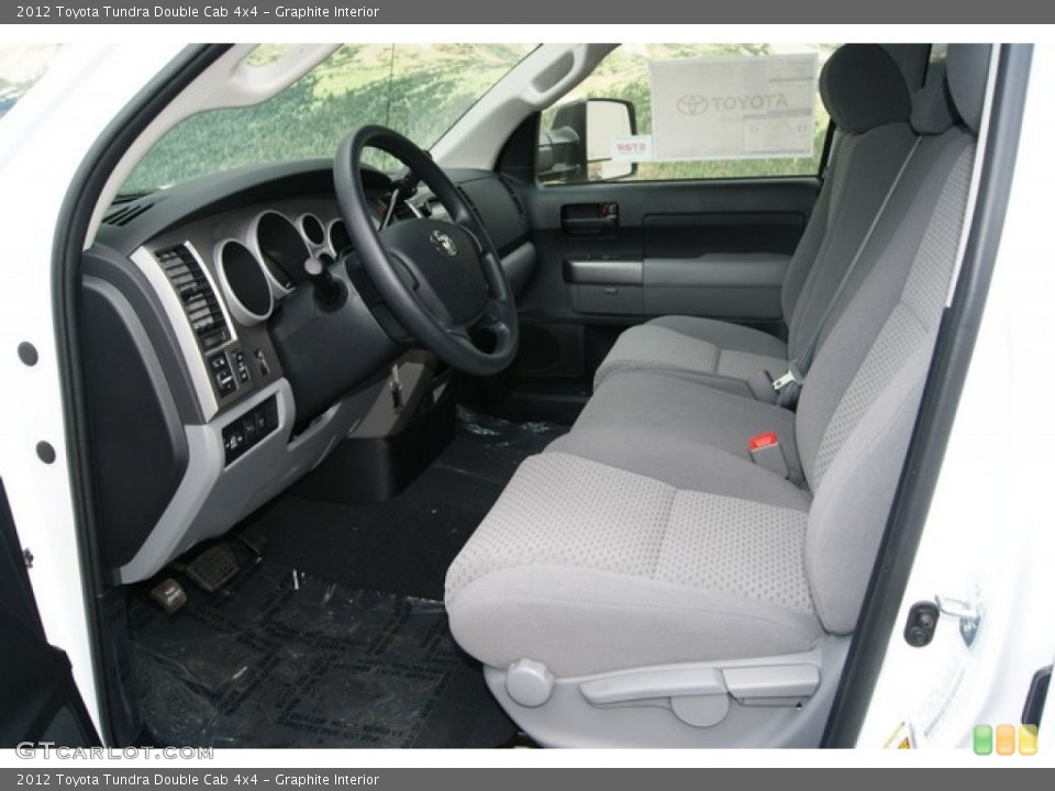 Graphite Interior Photo for the 2012 Toyota Tundra Double Cab 4x4 #55996876