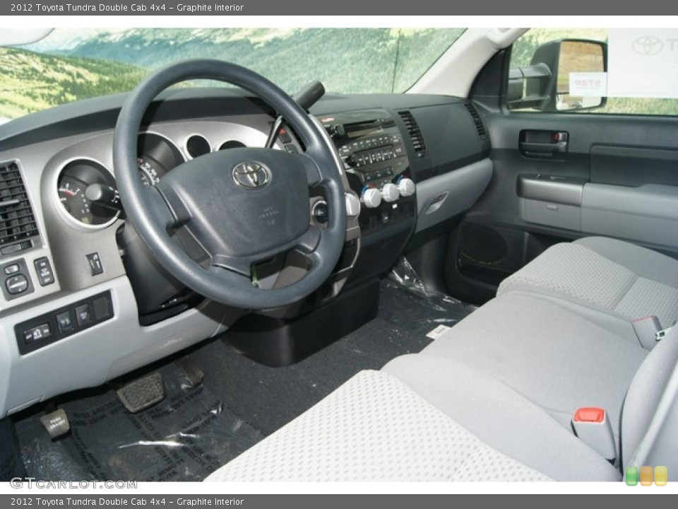 Graphite Interior Photo for the 2012 Toyota Tundra Double Cab 4x4 #55996884