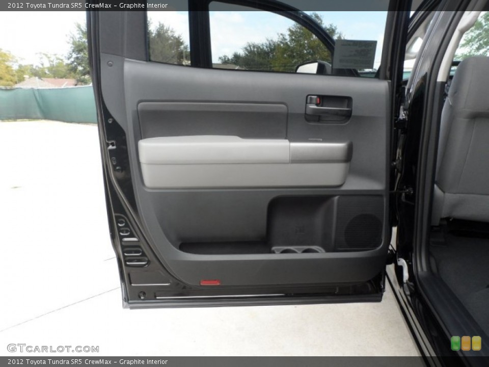Graphite Interior Door Panel for the 2012 Toyota Tundra SR5 CrewMax #55999456