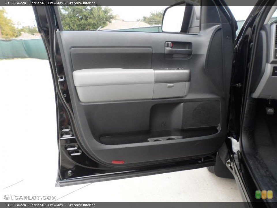Graphite Interior Door Panel for the 2012 Toyota Tundra SR5 CrewMax #55999471