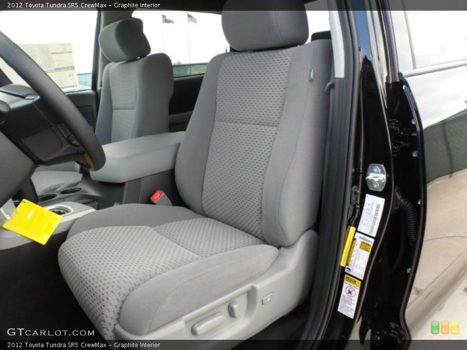 Graphite Interior Photo for the 2012 Toyota Tundra SR5 CrewMax #55999483