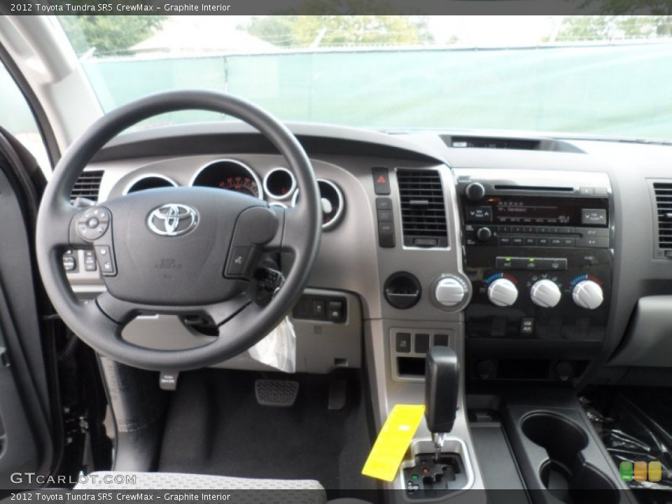 Graphite Interior Dashboard for the 2012 Toyota Tundra SR5 CrewMax #55999498