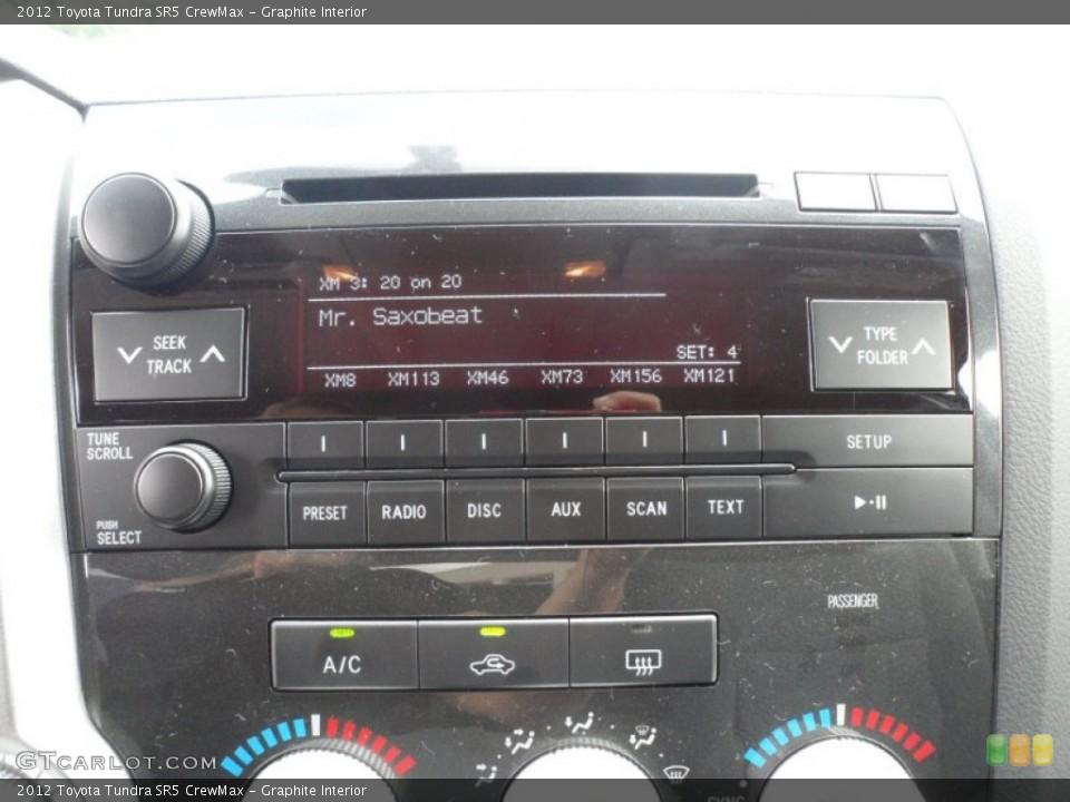 Graphite Interior Audio System for the 2012 Toyota Tundra SR5 CrewMax #55999525