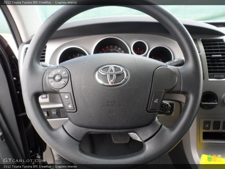 Graphite Interior Steering Wheel for the 2012 Toyota Tundra SR5 CrewMax #55999549