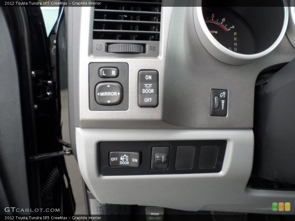 Graphite Interior Controls for the 2012 Toyota Tundra SR5 CrewMax #55999564