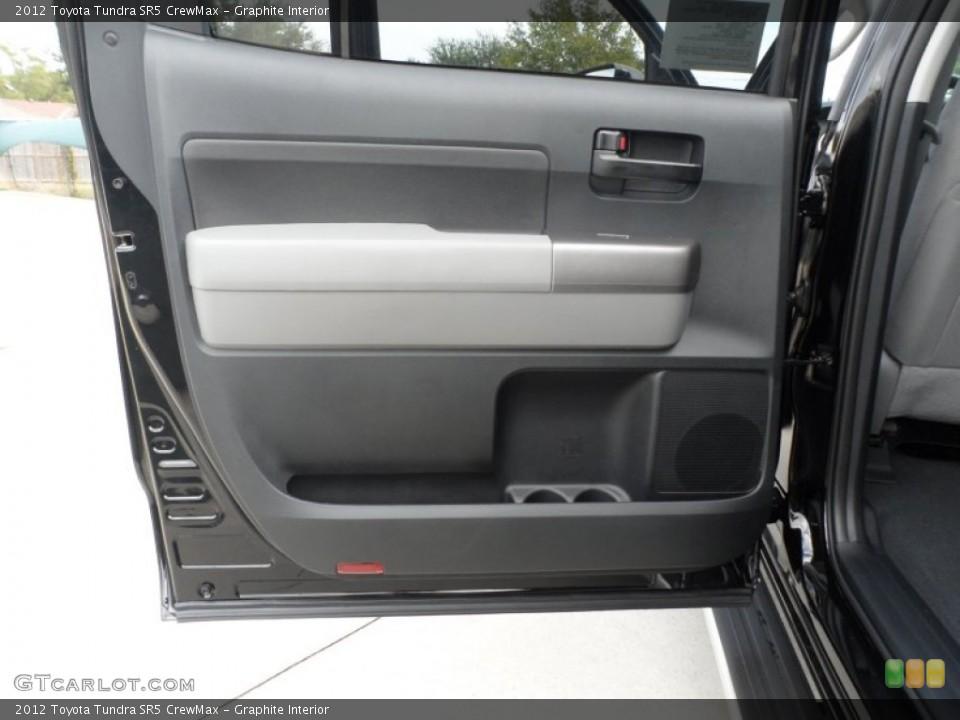 Graphite Interior Door Panel for the 2012 Toyota Tundra SR5 CrewMax #55999759