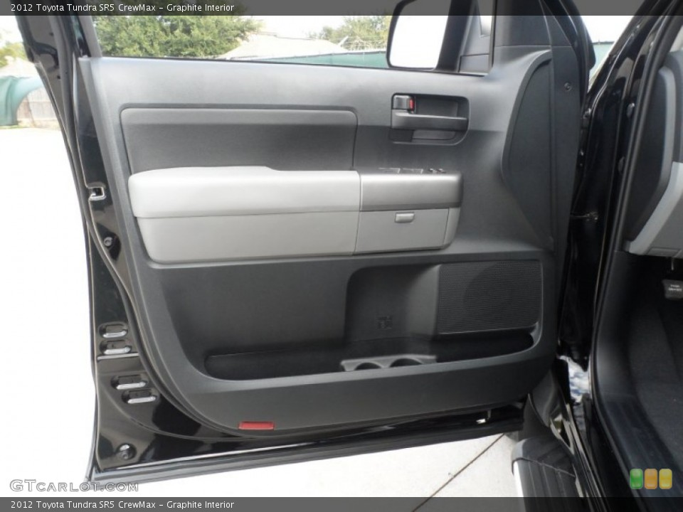 Graphite Interior Door Panel for the 2012 Toyota Tundra SR5 CrewMax #55999777